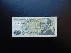 10 lira 1970 Törökország