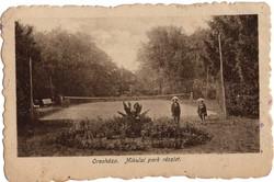 1925 Orosháza, Mikulai park, teniszpálya