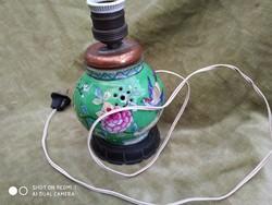 Kínai exportra kèszült antik lámpa 1920_30