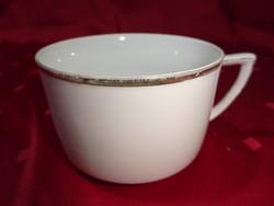Német porcelán antik kávéscsésze. Átmérője 8,3 cm.