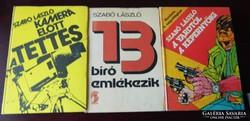 Szabó László könyvek - 13 bíró emlékezik / Kamera előtt....