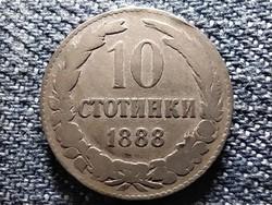 Bulgária I. Ferdinánd (1887-1918) 10 Stotinki 1888 (id42723)