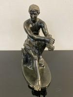 Római katona, bronz - M102
