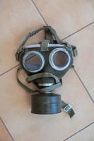 Gázmaszk - maskara, farsangi álarcnak - régi vegyvédelmi felszerelés, nem használt
