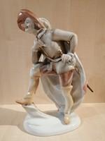 Herendi Cyrano de Bergerac figura