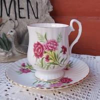 Royal Windsor angol 1.5 dl-es virágos   kávés csésze szett, porcelán