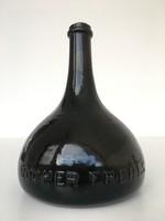 Rocher Freres antik üveg palack