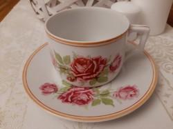 Végkiárúsítááás!Zsolnay rózsás teás csésze