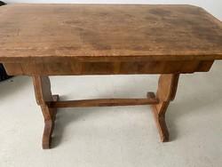 Biedermeier intarziás íróasztal