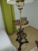 Antik asztalos állólámpa
