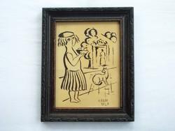 Kádár Béla festmény