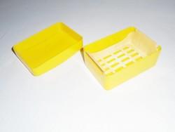 Retro fedeles műanyag szappantartó