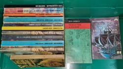Kozmosz fantasztikus könyvek 13 db