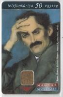 Magyar telefonkártya 0068    1998 Rippl-Rónai József   200.000 Db
