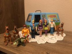 Ritka vintage Scooby Doo készlet