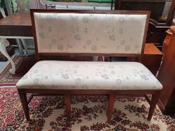 Art Deco kárpitos pad kanapé