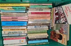 Sport témájú könyvek 51 db