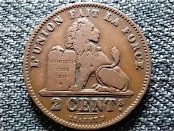 Belgium II. Lipót (1865-1909) 2 centime (francia szöveg) 1905 (id42467)