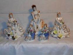 Porcelán balerinák