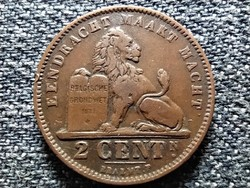 Belgium II. Lipót (1865-1909) 2 centime (hollandszöveg) 1905 (id42468)