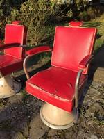 Retro (öntöttvas) fodrász szék (1960)