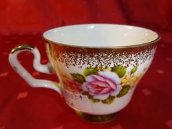 ROYAL Bavaria német porcelán kávéscsésze, exclusive decoration. Átmérője 7,7 cm.