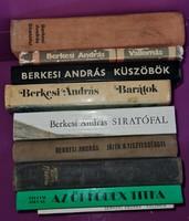 Berkesi András könyvek 9 db