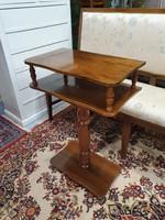 2 szintes kisméretű asztal konzolasztal kiegészítő bútor
