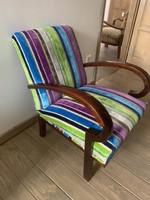 LEÁRAZVA!!! Igényesen felújított art deco fotel
