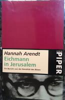 HANNAH ARENDT : EICHMANN IN JERUSALEM  -  JUDAIKA