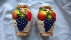 Új-Fűszerszóró-só-bors tartó kerámia