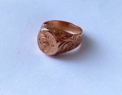 14 k-os női pecsétgyűrű