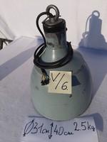 Ipari lámpa,zománc lámpa ,szarvasi lámpa loft  vintage  31.000 forint