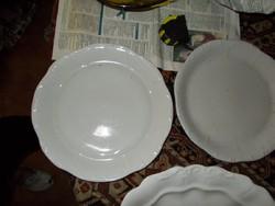 2-drb Zsolnay Sültes vagy sütis kerek tál