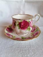 Royal Albert Old English Rose teás csésze alátéttel