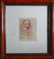 Salvador Dali: Cervantes- eredeti rézkarc