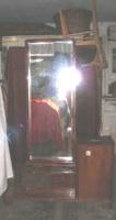 Art deco stílusú tükrös szekrény