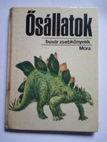 Búvár zsebkönyvek / Ősállatok  könyv !