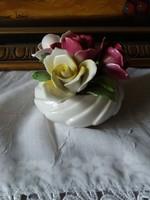 Staffordshire angol jelzett porcelán vitrindísz!