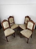 Antik kárpitos székek - 4 db