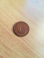 Half (1/2) Penny 1944 Georg V.  EF