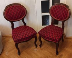 Biedermeier, Antik székek kàrpitozott, neobarokk,hasznàlható àllapotban