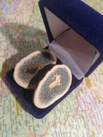Vadász dísz -- Kézzel agancsból készített mandzsetta