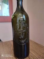 Budafoki literes borosüveg Gyűjtőknek!