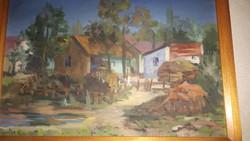 Olaj fa festmény
