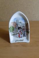 Franciaország Gérardmer emlék porcelán polc dísz 5* 7,5 cm (2/p)