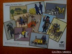 Jubileumi német képeslap-sorozat
