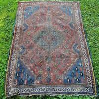 Antik Iráni Shiraz nomád szőnyeg. Alkudható!