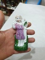 Régi porcelán figura