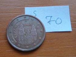 SPANYOL 5 EURO CENT 2005  S70